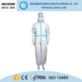 Disposable SBPP/SMS/Sf Overall with Hood