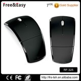Ultra-Thin 2.4GHz Optical USB Mouse Wireless Folding Arc Mouse