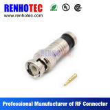 Compression Type BNC Male for Cable Rg59 RG6