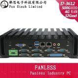 Fx-Box I3 / I5 / I7-4 Core, Fanless Industrial Computers, Barebones, Industrial Machine