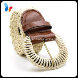 Fashion Rope Braided Belt Rope Covered Pin Buckle Belt