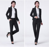 Made to Measure Fashion Stylish Office Lady Formal Suit Slim Fit Pencil Pants Pencil Skirt Suit L51614