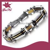 Fashion Mens Leather Bracelet (2015 Stlb-066)