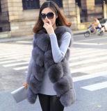 Fox Fur Vest/Silver Vest