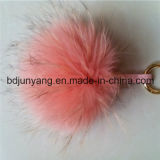 Fashion Real Raccoon Fur Ball for Woman Bags
