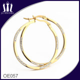 Fashion Design Hanging Hoop Earrings for Cute Girls