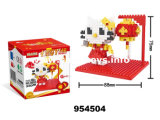 Building Block Puzzle Educational Plastic Toy (954504)