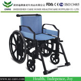 Plastic Manual Handicapped Wheelchair for Disabled