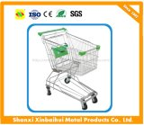 60-240 Liter Asian Shopping Supermarket Trolley Cart with Heavy Duty
