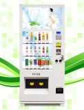 Touch Screen Media Snack Automatic Vending Machine