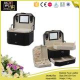 Black Color PU Jewelry Case (5055)
