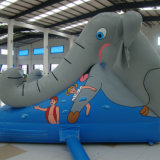 Attractive Animal Inflatable Slide (SL-0103)