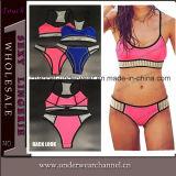 Women Neoprene Swimwear Sexy Triangle Bikini (TQL100)
