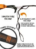Carries Easily Adjustable Hammock Tree Straps with Loops