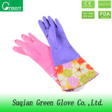 Selling Products Long Cuff PVC Cleaning Gloves