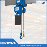Brima 3t High Grade Electric Chain Hoist Trolley with Fixed