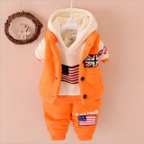 Clothing > Children′s Outfits & Sets > Product Detail Go Back. 2015 Baby Unisex Lovely Warm Suits Cotton Three-Piece 2015 Baby Unisex Lovely Suits