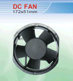DC Cooling Fan. 172*150*51mm with Ce&UL Certification. Provide Customized Service