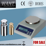 1000g 0.1g Weighing Scale with Rechargeable Battery