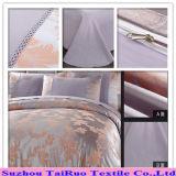 100% Polyester Satin Jacquard Bed Sheet