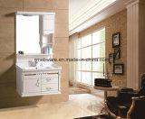 Hot Sell Wall Mounted Retro Bathroom Cabinet Ceramic Basin Bathroom