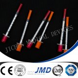 1ml Disposable Sterile Insulin Syringes with Fixed Needles