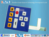 Embossed Key Polydome Membrane Switch Control Panel