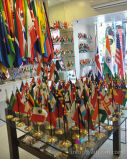 Wholesale Table/Desk Top Stand Flag Printing
