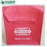Ultrasonic Insulated Non-Woven Pizza Bag Nonwoven Pizza Delivery Bag