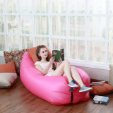 Inflatable Air-Filed Sleeping Bag Camping Holiday Beach Air Sofa Sleeping Air Bed