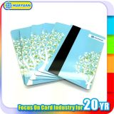 Loyalty System Plastic RFID Smart Card with Magnatic Strip