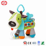 Plush Soft Standing Dog Fabric with Puller Music Gift Toy