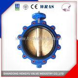 Industrial Lug Type Concentric Butterfly Valve with Bare Shaft