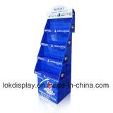 UV Coating Cardboard Floor Display Shelf PDQ Display Stands, Paper Trays Display