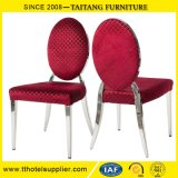 Chinese Factory Cheap Stainless steel Dining Chair for Wedding