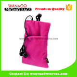 Soft Red Cell Phone Pouch with Double Model