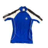 Kid′s Short Sleeve Lycra Rash Guard/Swimwear/Sports Wear (HXR0058)