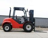 3 Ton 4X4 Hydraulic 3m Lifting Height Rough Terrain Diesel Forklift