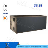Sb28 High-Power Double 18′′ Line Array Bass Line Array Subwoofer Speaker