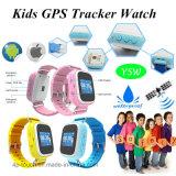 2017 Waterproof IP67 Kids GPS Tracker Watch (Y5W)