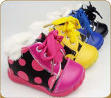 High Quality Hand Painted Child Boot OEM Order Is Available