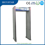 24 Detection Zones Walk Through Metal Detector 300c with 4hours Backup Battery