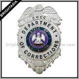 Dwcc Security Badge for Die Cast Made with Enamel (BYH-10043)