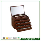 Deluxe Paint Style Custom Wooden Jewellery Storage Box