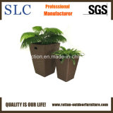 Rattan Flower Pot/Solar Power Flower Pot (SC-8041)
