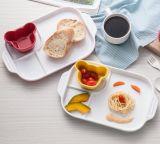 Melamine 3-Divided Plate/Kid′s Plate (CC882) /Dinnerware