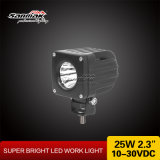 2.3 Inch 25W Offroad Motor LED Work Light