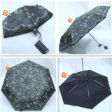 Three Fold Super Light UV Fabric Windproof Umbrellas (JHD-3F10010A)