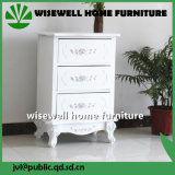 MDF Wood Bedroom Drawer Chest in White Color