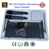 Two Channel UHF Wireless Lavalier Microphone (SW-250)